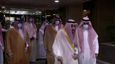 King Salman leaving hospital