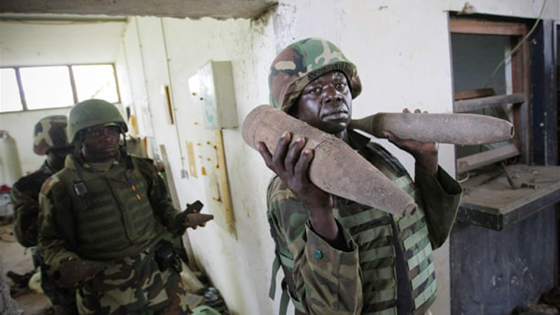 Currently 22,000 African Union troops are in Somalia to back the country's internationally backed government [EPA]