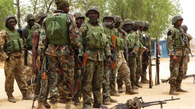 Image result for nigerian soldiers rescue  boko haram captives