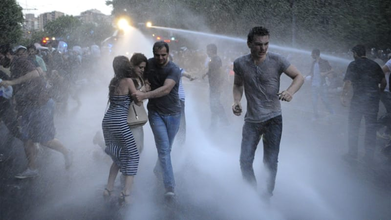These demonstrations are different from the ones in Armenia's past, writes Giragosian [AP]