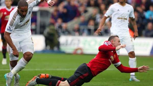 Swansea end Man Utd's unbeaten start to the league   News ...