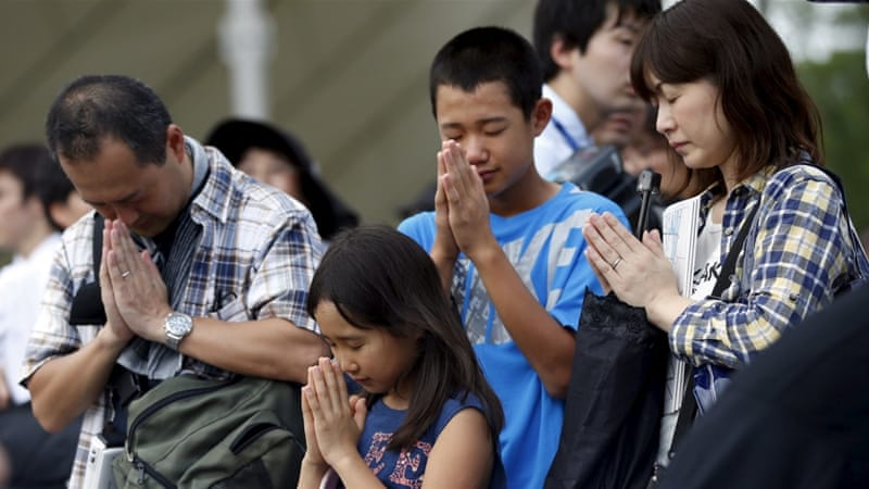 Prime Minister Shinzo Abe and US ambassador Caroline Kennedy expected to attend services in Nagasaki on Sunday [Reuters]