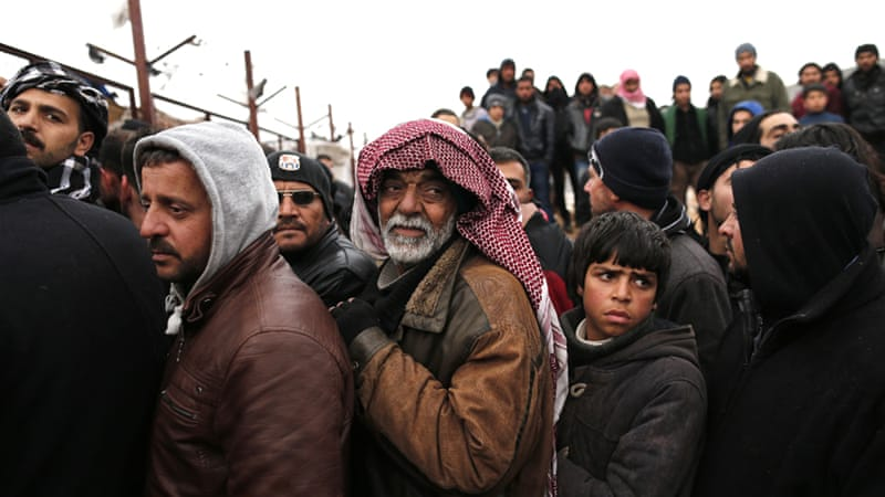 An estimated 260,000 refugees have returned to Syria from neighbouring countries since 2015, according to the UN [FILE: EPA]