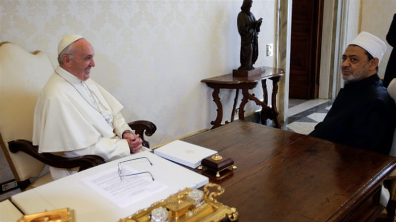 Pope Francis made several gestures towards Islam including bringing Syrian refugees to the Vatican [Reuters]