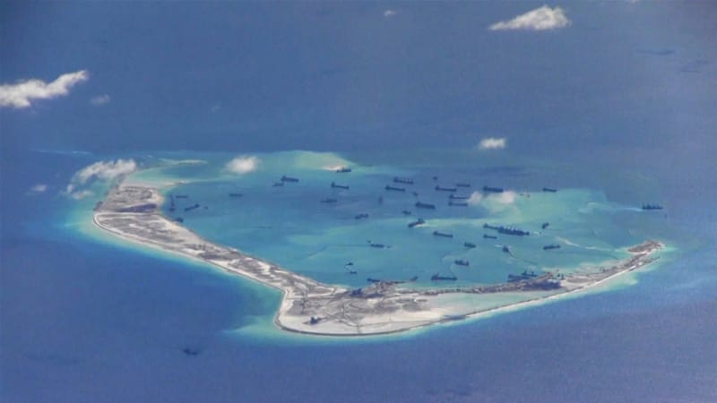China claims much of the South China Sea, through which more than $5 trillion of trade moves annually [FILE - Reuters]
