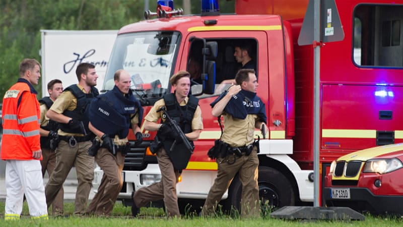 German media cited local police sources saying that several people were killed in the incident [Matthias Balk/EPA]