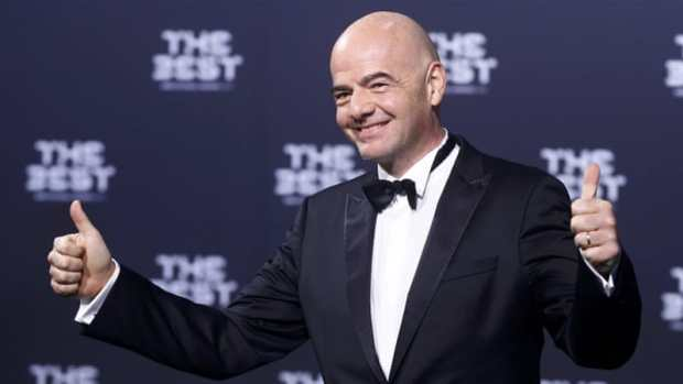 Infantino's pledge of a bigger World Cup also means an additional $1bn income for FIFA [Reuters]