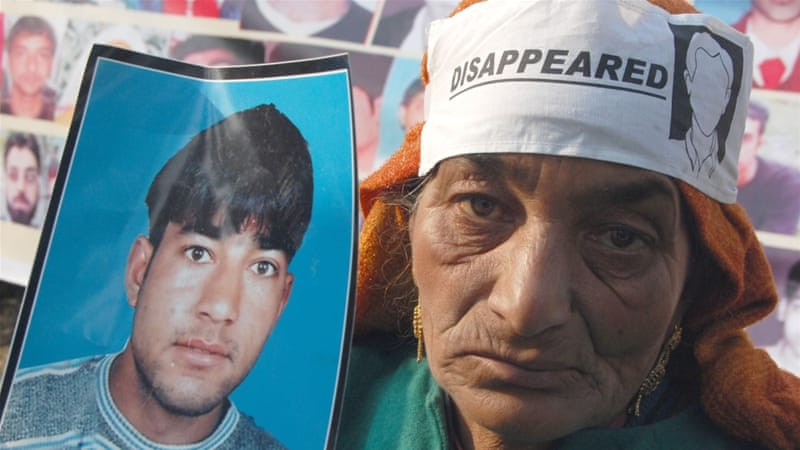 APDP maintains that 8,000 people have disappeared in the decades-old conflict [Shuuaib Masoodi/Al Jazeera]