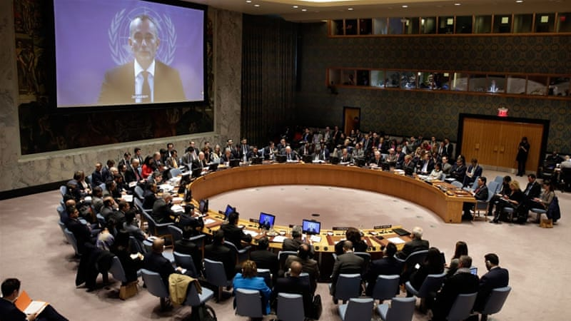 UNSC roundly condemns Trump's Jerusalem move