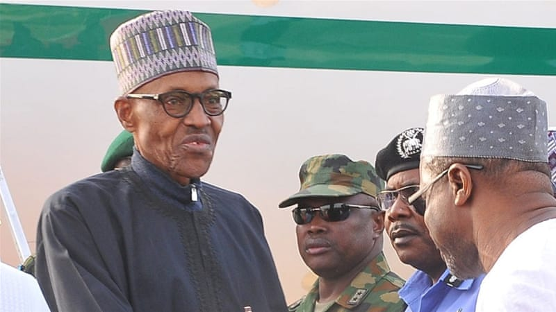 Image result for Buhari finally departs Nigeria for London