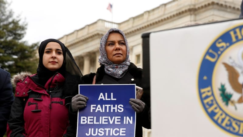 Trump's proposal to track 'honour crimes' is rooted in good, old-fashioned bigotry, writes Alex Shams [Kevin Lamarque/Reuters]