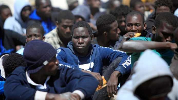 Image result for UN agency fears for Africans held by gang in Libya