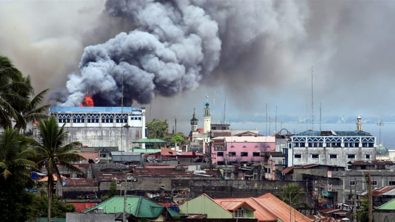 Image result for news for marawi, philippines, photos