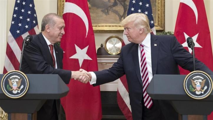 Trump hosted Erdogan at the White House in May last year [File: Michael Reynolds-Pool/Getty Images]