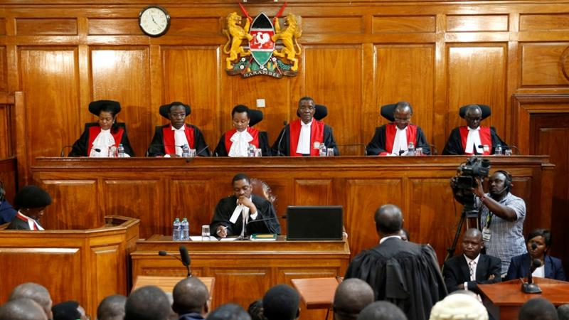 Kenya's Supreme Court declared the August 8 elections invalid on September 1 [Reuters/Baz Ratner]
