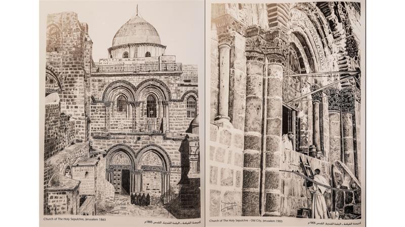 The master artist preserving Jerusalem's history