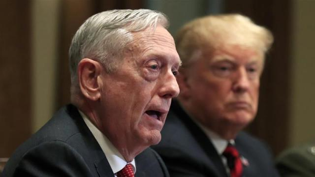 Mattis, in his resignation letter, emphasised the importance of standing up for US allies [File: Manuel Balce Ceneta/AP Photo]