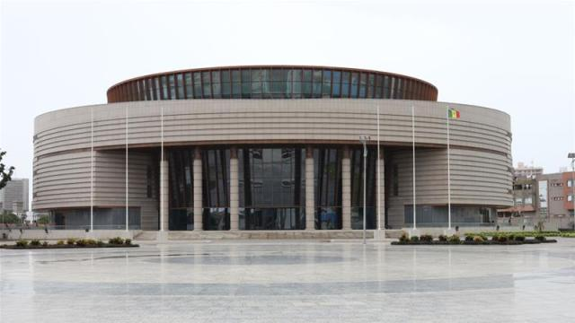 The Museum of Black Civilisations will open on Thursday in Dakar [Courtesy: Museum of African Civilisations]