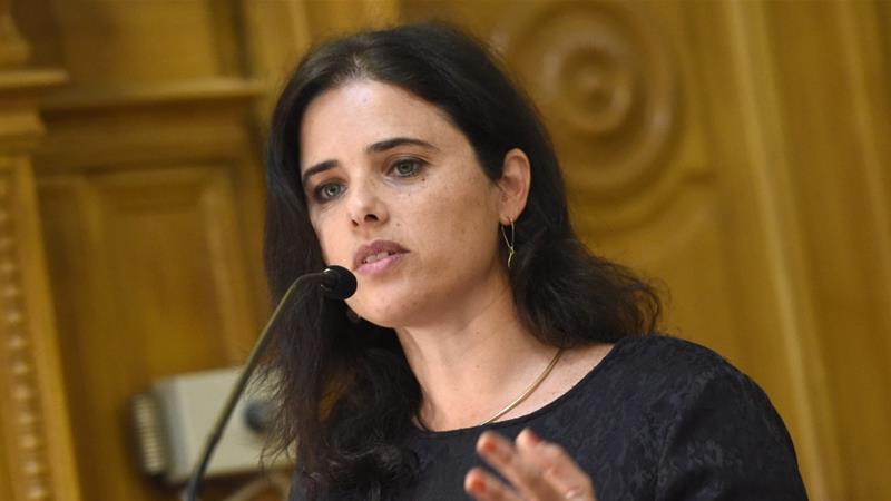 Shaked said Israel must maintain a Jewish majority 'at the price' of rights violations [Tamas Kovacs/MTI via AP]