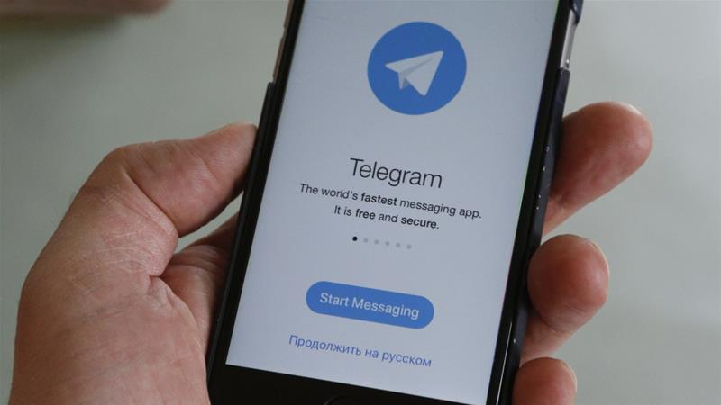 The Iranian government blocked Telegram during the 2017 anti-government protests [Eduard Korniyenko/Reuters]