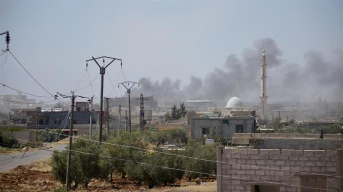 Syrian offensive displaces thousands in rebel-held Deraa