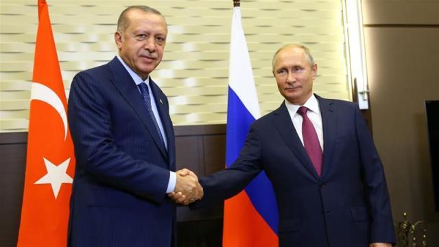 Erdogan said cooperation between Turkey and Russia would bring 'hope to the region' [Halil Sagirkaya/Anadolu]