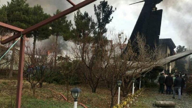 The cargo plane that crashed in Iran reportedly departed from Kyrgyzstan's Manas airport [IRNA]