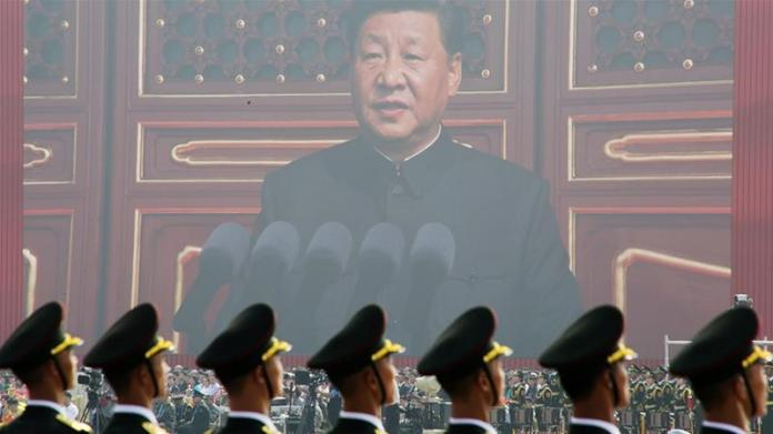Communist China celebrates 70th birthday as Hong Kong simmers