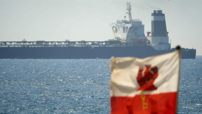 The Grace 1 oil tanker was seized last week by British Royal Marines off the coast of Gibraltar [Marcos Moreno/AP]