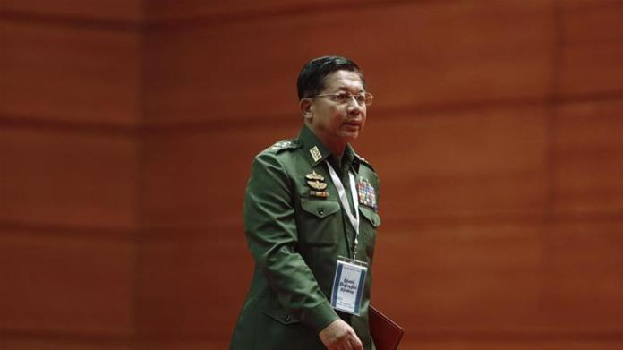 US slaps sanctions on Myanmar army chief over Rohingya abuses