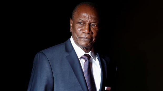 Guinea's President Alpha Conde is currently serving his second and, under the 2010 Constitution, last five-year term [Reuters]