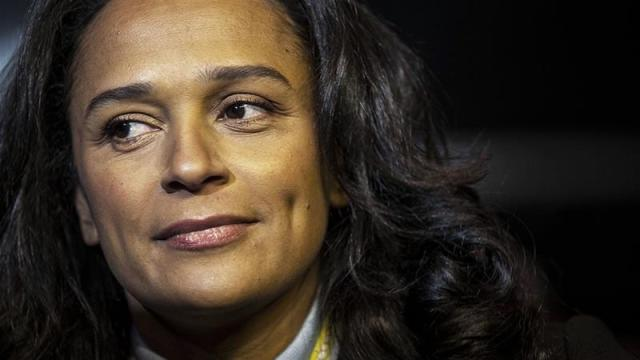 Isabel dos Santos known as Africa's richest woman, will sell her stake in Portuguese bank Eurobic amid reports of alleged fraud [File: Daniel Rodgrigues/Bloomberg]