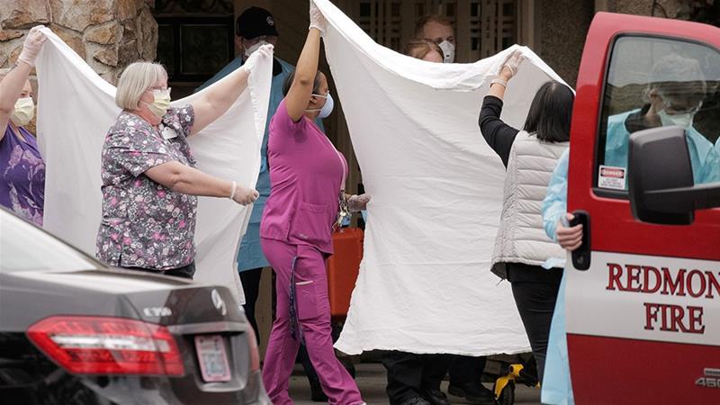 US nursing home COVID-19 outbreak highlights close-quarter ... on Life Care Center Of Kirkland id=77781