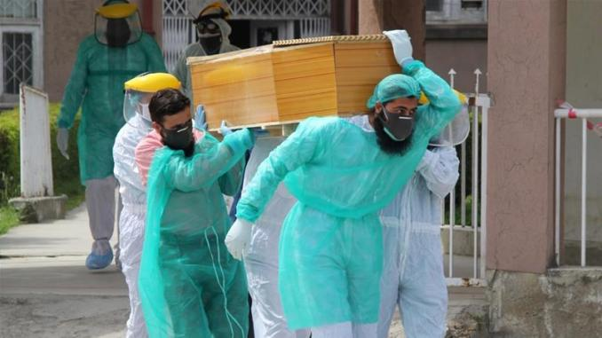 Pakistan records highest number of coronavirus deaths in a day ...