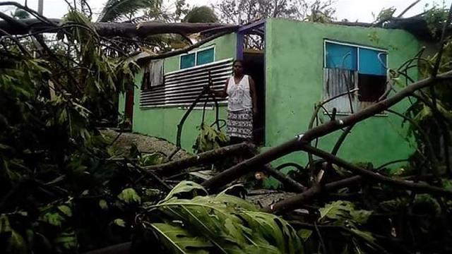The National Disaster Management Office said residents along much of the south coast, home to many of the country's major tourist resorts, should evacuate [IFRC/AFP]