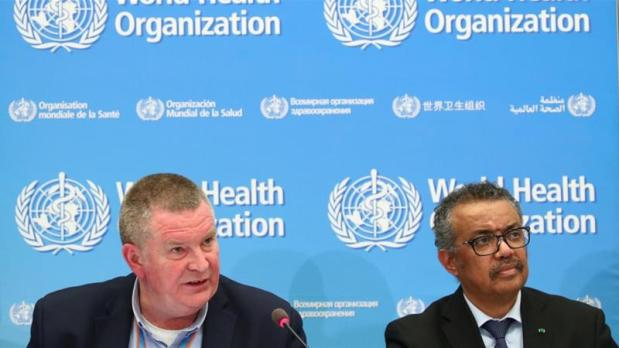 The World Health Organization - spearheaded by emergencies programme director Michael Ryan (left) and Director-General Tedros Adhanom Ghebreyesus (right) - said it wanted to be invited to take part in Chinese investigations into the animal origins of the pandemic [Denis Balibouse/Reuters]