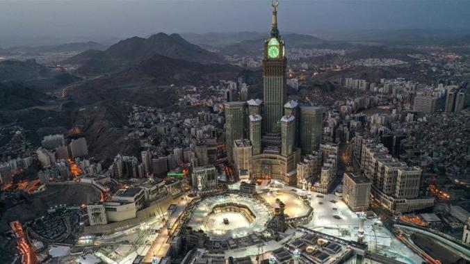 An aerial view of Saudi Arabia's holy city of Mecca [File: AFP]