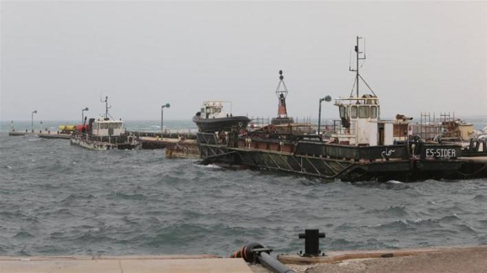 ISO Certificate Since January, groups loyal to Haftar have been blocking the production and export of oil from the country's most important fields and terminals [Esam Omran Al-Fetori/Reuters]