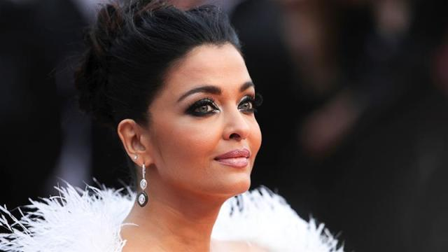 Aishwarya Rai Bachchan poses for photographers at the premiere of 'La Belle Epoque' at the 72nd International Film Festival, Cannes, France [File: Petros Giannakouris/AP]