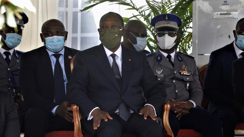 Ouattara has previously said he would prefer to hand over power to a new generation, although he also says he has the right to run again under the new 2016 constitution [File: Thierry Gouegnon/Reuters]