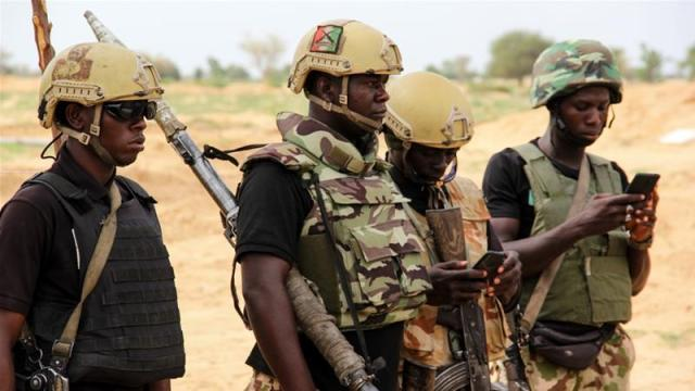 Three soldiers lost their lives, two wounded while eight rebels were killed during the gun battle with the attackers, a defence spokesman said [File: Audu Marte/AFP]