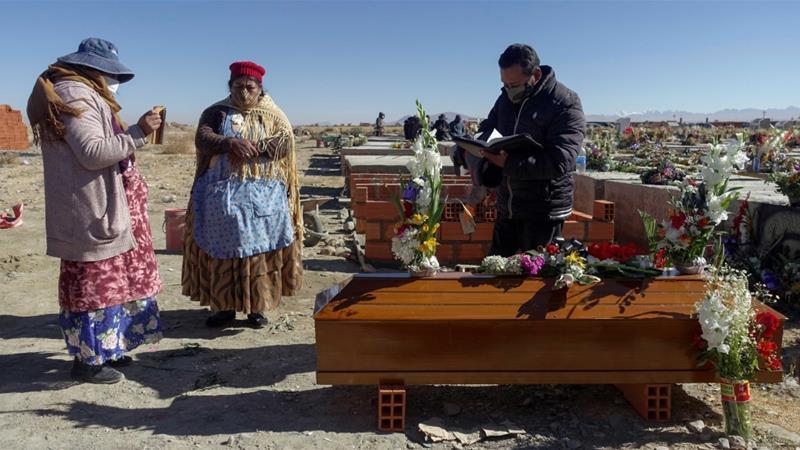「棺も酸素もない」:コロナウイルスの急増の中で苦しんでいるボリビア