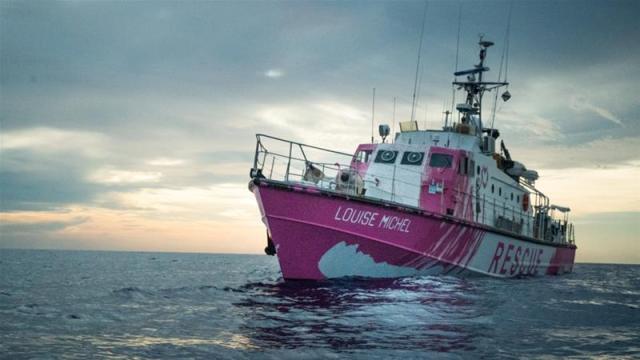 Banksy-funded migrant rescue vessel in distress at sea   News   Al Jazeera