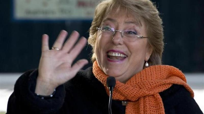 Michelle Bachelet: 'I love my country'