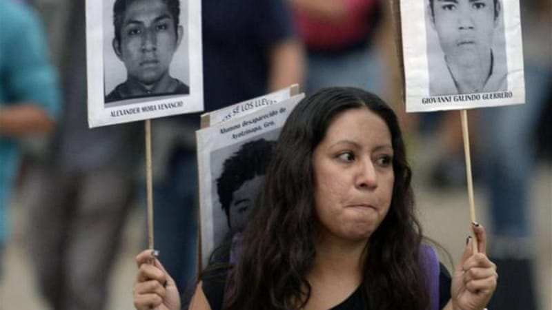 More than 27,000 people have disappeared in Mexico since 2006 [AFP/Getty Images]