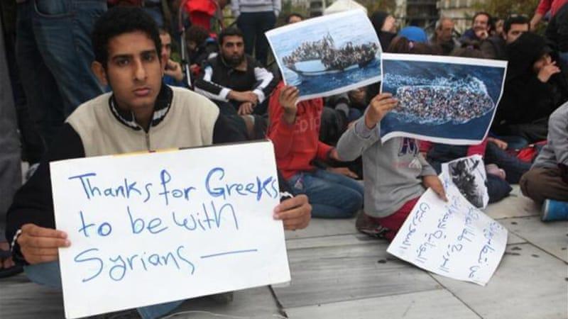 Refugees from Syria arrive in Europe [source: Al Jazeera]