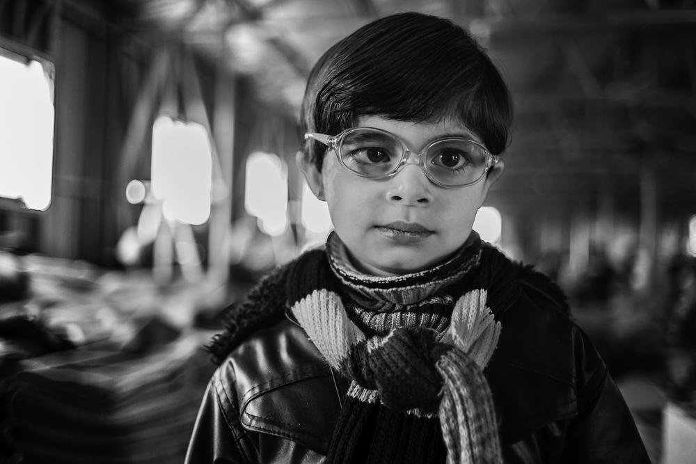 Five-year-old Ali arrived on November 17 from rural Damascus. At first light, his mother dressed him in his best clothing before registering as a refugee.