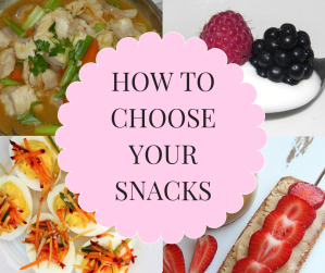 How to choose snacks
