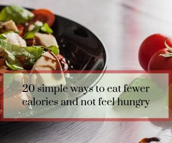 Feel Fuller On Fewer Calories