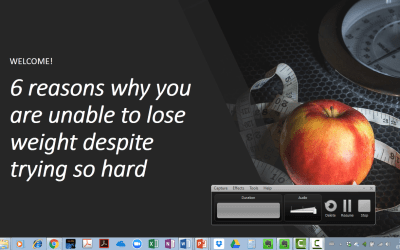 Why can't I Lose Weight: 6 mistakes to avoid
